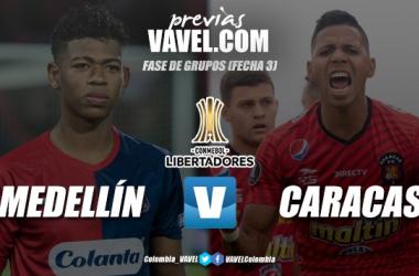 Previa Independiente Medellín vs Caracas: por un retorno de tres puntos