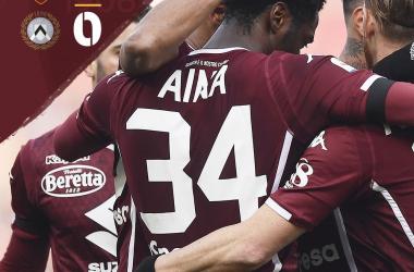 Serie A - L'Udinese spreca tutto, il Torino porta tre punti in cascina (1-0)