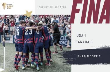 Estados Unidos gana el grupo B con tres victorias al hilo en la Copa Oro 2021 | Fotografía: U.S.Soccer