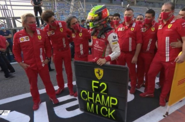 Mick Schumacher Juara Dunia Formula 2