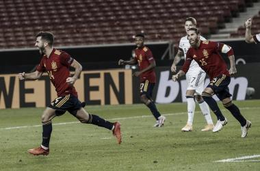 Ramos, Kroos y Dani Carvajal disputaron los 90 minutos en el Alemania vs. España