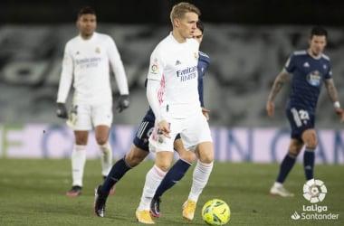 Ødegaard ante el Celta | Foto: LaLiga