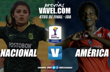Previa Atlético Nacional vs. América de Cali: por un cupo a la semifinal