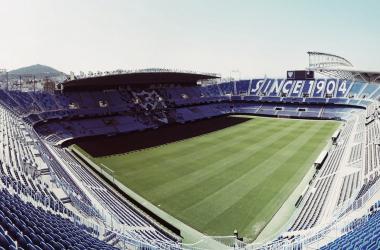 Estadio de la Rosaleda / Fuente: Málaga CF