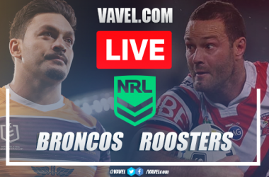 As it happened: Sydney Roosters cruise to victory in Brisbane after 59-0 rout against the Broncos