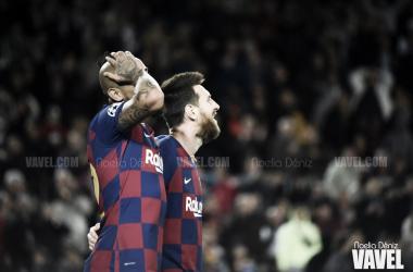 El Barça alza la voz en Son Moix y se reivindica en el regreso de Luis Suárez (0-4)