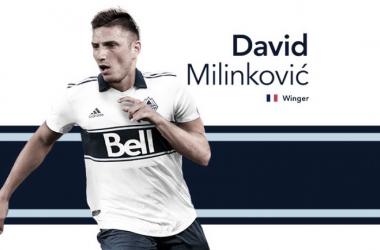 Milinkovic firma por Whitecaps FC