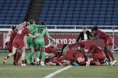 Canadá ganó la primera medalla olímpica dorada en el fútbol femenino | Fotografía. Canada Soccer
