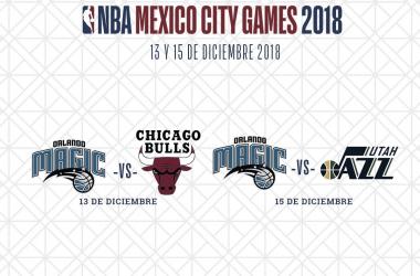 La NBA se apoderará otra vez de la CDMX (Imagen | NBA México)