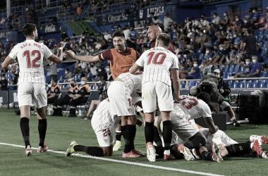 Getafe - Sevilla FC; puntuaciones del Sevilla en la jornada 2 de LaLiga Santander