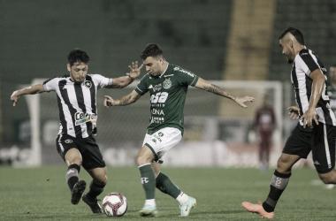 Com polêmica no Brinco de Ouro, Guarani e Botafogo ficam no empate