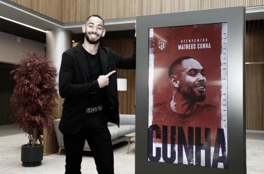 Atlético de Madrid anuncia contratação do medalhista olímpico Matheus Cunha