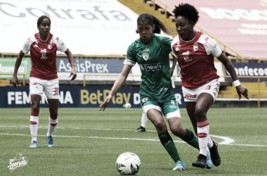 Asegurada la clasificación bogotana en la Liga Femenina
