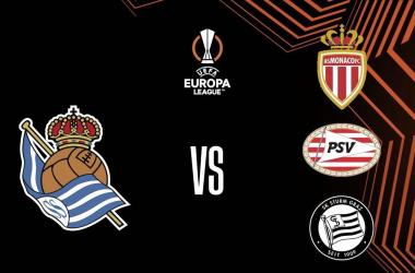 Grupo B de la Europa League: Mónaco, PSV, Real Sociedad y Sturm Graz. Foto: Real Sociedad