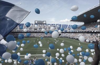 Imagen del Estadio La Rosaleda antes de la pandemia / Fuente: Málaga CF