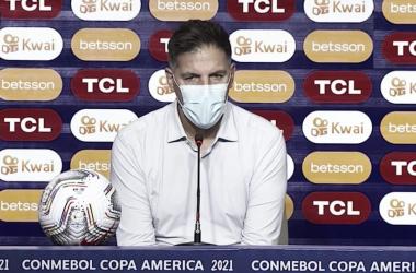 """Eduardo Berizzo: """"Dolido porque los penales no premian lo hecho en el partido"""""""