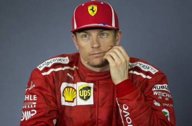 Kimi Raikkonen en rueda de prensa | Foto: GettyImages