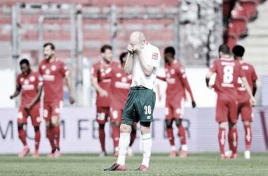 Segue o drama! Werder Bremen perde para Mainz e se aproxima do rebaixamento na Bundesliga