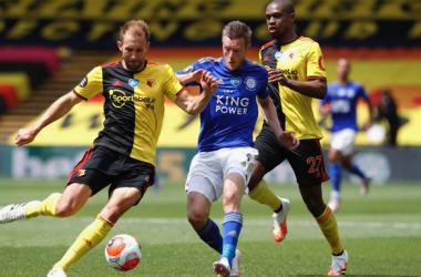Pari e patta tra Watford e Leicester: a Chilwell risponde Dawson (1-1)