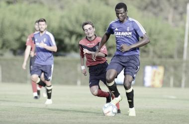 Bikoro seguirá en el Real Zaragoza