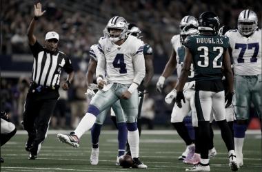 Cowboys vencen a Eagles y retoman el liderato de la NFC Este
