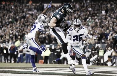Eagles vencen a Cowboys y ahora mandan en la NFC Este