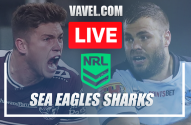 As it happened: Cronulla Sharks pick up 3rd victory with 40-22 win against Manly-Warringah