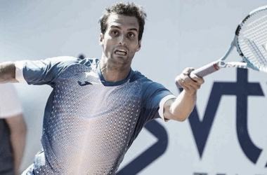 Ramos Viñolas en acción ante Carballés Baena | Foto: ATP 250 de Gstaad
