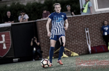 Rose Lavelle of the Boston Breakers will be out four to six weeks | Source: E.Sbrana - Earchphoto