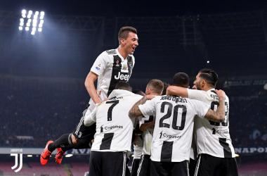 Serie A - Il Napoli si ferma al palo: la Juve vince 1-2 e vola a +16