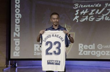 Así ha sido la mediática presentación de Shinji Kagawa