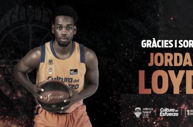 Jordan Loyd abandona Valencia Basket para recalar en Estrella Roja