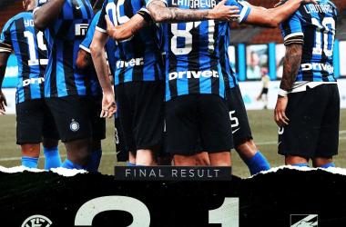 L'Inter dura solo un'ora, ma basta per battere la Sampdoria