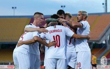 Serie A - Il Milan vince a Lecce: 4-1 dei rossoneri