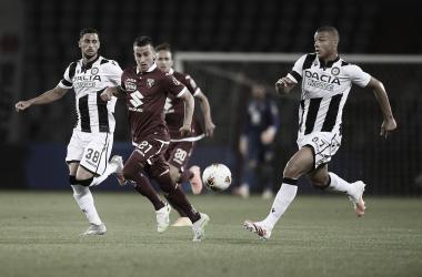 Torino supera Udinese, quebra sequência negativa de cinco meses e respira contra degola
