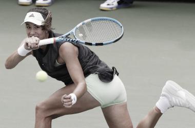 Muguruza en su derrota ante Riske | Foto: US Open