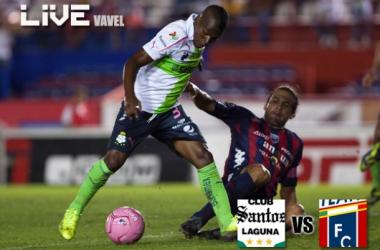 Resultado Santos Laguna - Atlante en Liga MX 2014 (4-3)