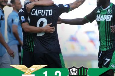 La Lazio non vince più: KO contro un ottimo Sassuolo