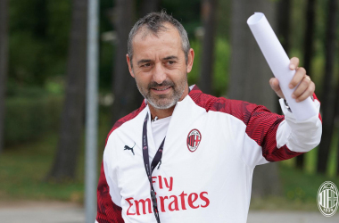 """Milan, Giampaolo in conferenza: """"Non possiamo fare altre che migliorarci"""""""