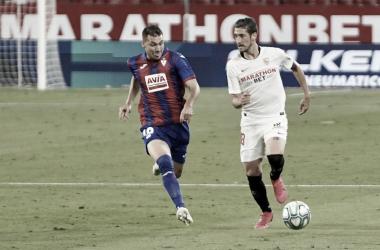 Sevilla FC vs SD Eibar : Puntuaciones del Sevilla, 34ª jornada de LaLiga