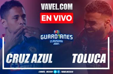Goles y resumen del Cruz Azul 3-1 Toluca en Cuartos de Final Vuelta de la Liga MX 2021
