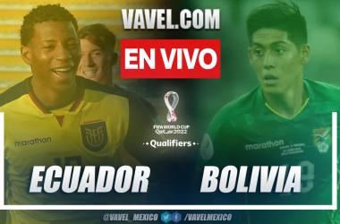 Resumen y goles: Ecuador 3-0 Bolivia en la fecha 11 por eliminatorias a Catar 2022