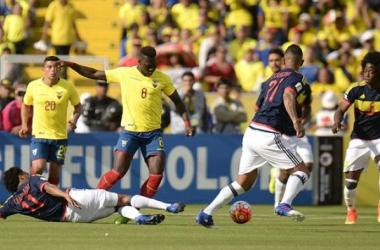 A Ecuador le costo mantener el control de la mitad de cancha y concretar las jugadas de gol generadas.