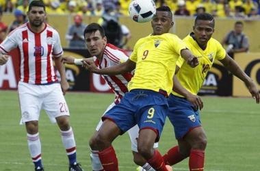 Paraguay vs Ecuador partido a jugarse el jueves 23 de marzo 20:00. (Foto: EFE)