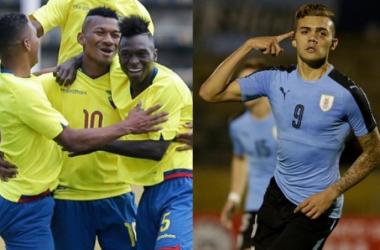 Resumen Ecuador 1-2 Uruguay en Sudamericano Sub-20