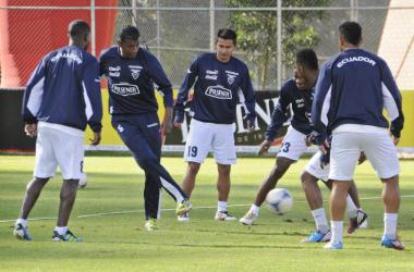 La selección ecuatoriana ya se encuentra en Quito