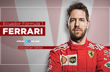 Ecuador Mundial F1: Sebastian Vettel, | Fotomontaje: VAVEL: Martín Velarde