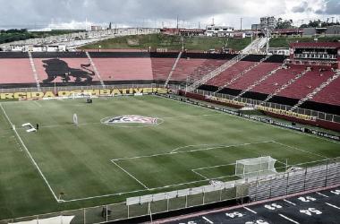 Barradão, estádio-sede de Vitória x Ponte Preta (EC Vitória / Divulgação)