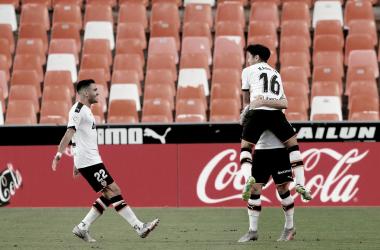 La magia de Kang-In le da la victoria al Valencia