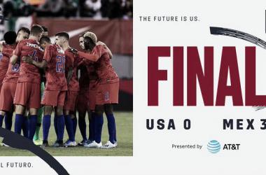 Estados Unidos volvió a perder el clásico de la Concacaf | Fotografía: U.S.Soccer.